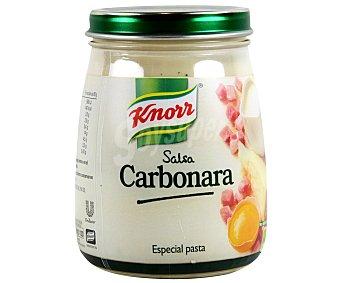 Knorr Salsa para pasta carbonara Frasco 290 ml