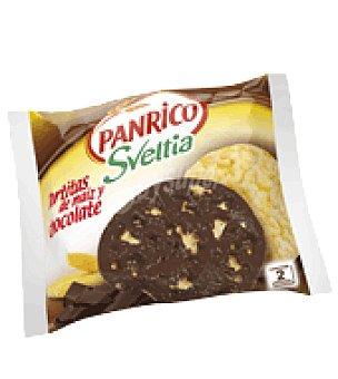 Panrico Tortitas de maíz y chocolate Sveltia 65 g