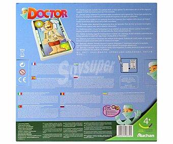 Rik&Rok Auchan Juego de mesa infantil de habilidad Doctor Operando, de 2 a 4 jugadores 1 unidad