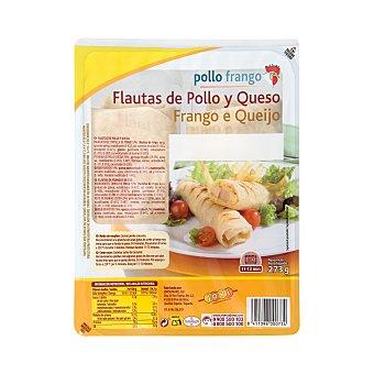 Pinchos Jovi Flautas pollo y queso Paquete 273 g (2 u)