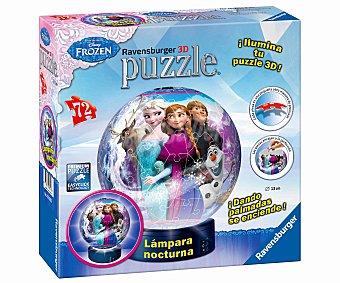RAVENSBURGER Puzzles Ball Lámpara de 72 Piezas 1 Unidad