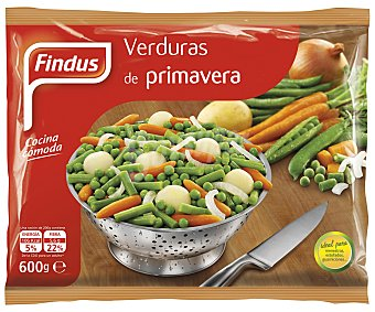 Findus Menestra de verduras de primavera Bolsa 600 g