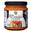 Salsa de tomate con verduras a la parrilla Tarro 285 g Garden Food
