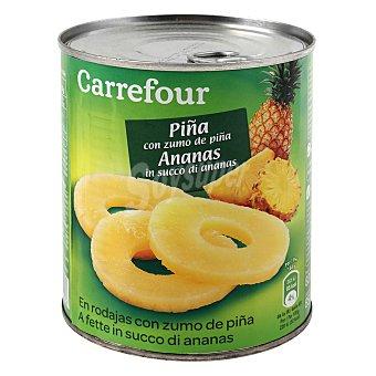 Carrefour Piña en rodajas en su jugo 490 g