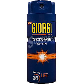 Giorgi Desodorante Feel The Life 24h Spray 150 ml