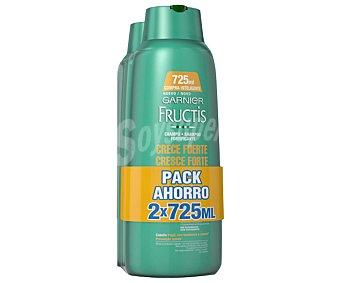 Fructis Garnier Champú fortificante especial para cabellos frágiles o con tendencia a caerse 2 unidades de 725 mililitros