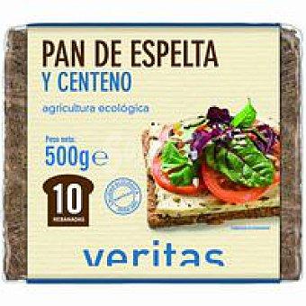 Veritas Pan de espelta-centeno 500 g