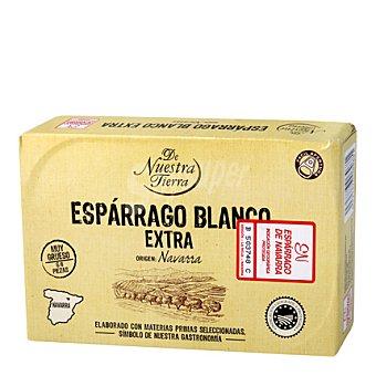 Carrefour Selección Espárragos blancos extras muy gruesos 7/9 ' Frutos de Navarra' 250 g
