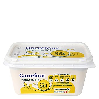Carrefour Margarina vegetal 500 g