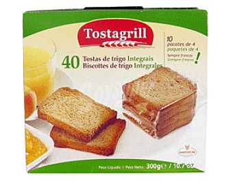 Tostagrill Biscottes de Trigo Integral 300 Gramos
