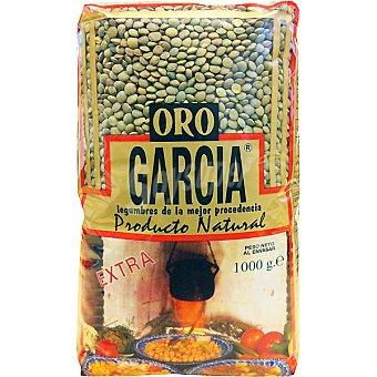 García Lenteja pardina Oro extra Bolsa 1 kg