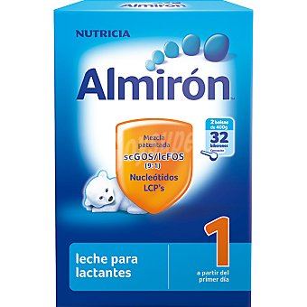 ALMIRON 1 Lactantes Leche en polvo desde el primer día 2x400g envase 800 g 2x400g