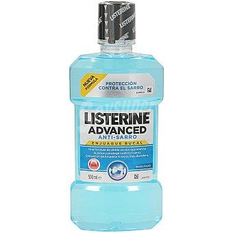 Listerine Enjuague bucal advanced antisarro Botella 500 ml