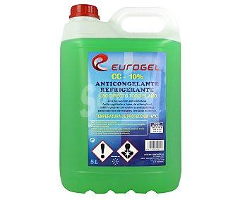 Eurogel de líquido anticongelante refrigerante, con temperatura mínima de -6º C eurogel 5 litros