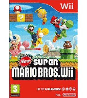 Nintendo Juego wii new super mario bros nintendo