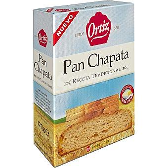 Ortiz pan chapata tostado especial para untar Estuche 120 g