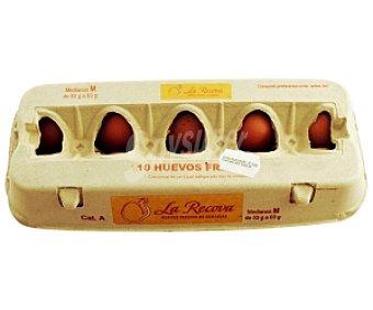 La recova Huevos Clase M 10 Unidades