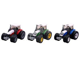 Rik&Rok Auchan Súper tractor a escala 1:32 con sistema de ruedas libres ROK