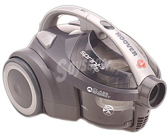 HOOVER SPRINT EVO SE41 Aspirador sin bolsa, potencia 850w, ciclónico, filtro Hepa, capacidad del depósito 1,5 litros