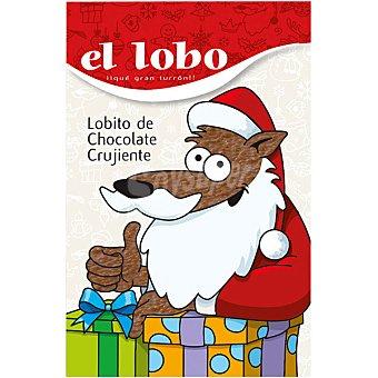 El Lobo Lobito de turrón de chocolate crujiente Estuche 200 g