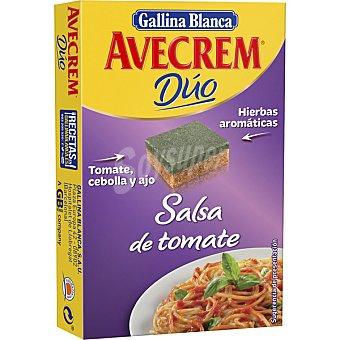 Gallina Blanca Sazonador dúo salsa de tomate, cebolla y ajo Avecrem Caja 112 g