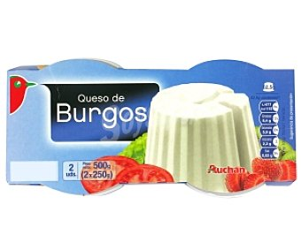 Auchan Queso fresco de Burgos 250g
