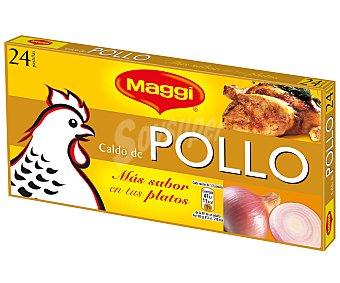 Maggi Caldo de pollo en pastillas 24 Pastillas