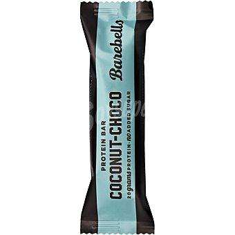 BAREBELLS Barrita de proteínas sabor coco y chocolate sin azúcar añadido envase 00055 G