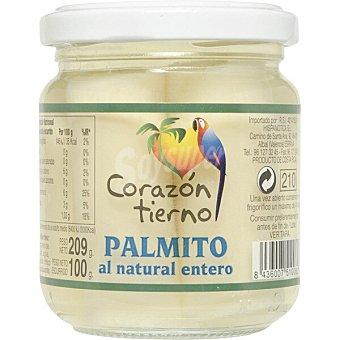 Corazon Tierno Palmito al natural extrafino Frasco 100 g neto escurrido
