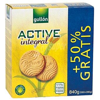 Gullón Galletas integrales con fibra active Paquete 560 g