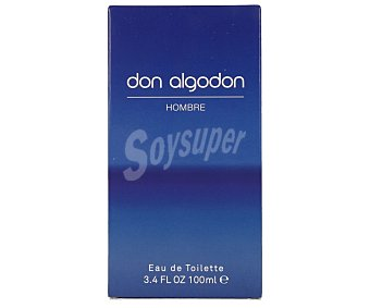 Don Algodón Eau de toilette natural masculina Frasco 100 ml
