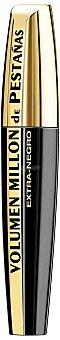 L'Oréal Paris Máscara de Pestañas Volumen Millón de Pestañas Negro 1 ud
