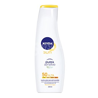 Nivea Sun Loción solar sensitive FP50 Bote 200 ml