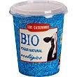 Yogur natural ecológico 0% azúcar añadido sin gluten Envase 350 g Los caserinos