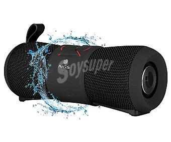 Ngs Altavoz portátil inalámbrico 24W de potencia, Bluetooth, wifi, hasta 7 horas de autonomía Roller Stream