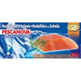 Pescanova Medallones de salmón Caja 400 g