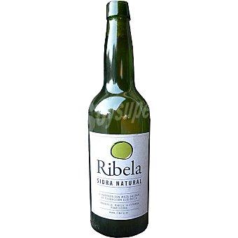 RIBELA Sidra natural ecológica Botella 70 cl