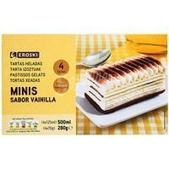 Eroski Mini tarta de vainilla 280 g