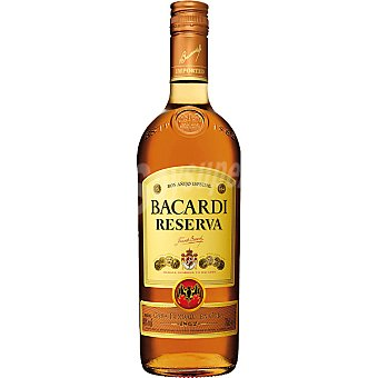 Bacardi ron añejo especial reserva Botella 70 cl
