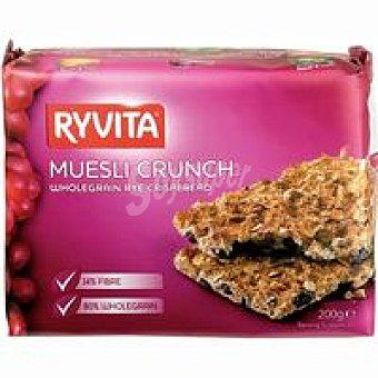 Ryvita Pan de muesli Crunch Paquete 200 g
