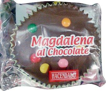 HACENDADO Surtido granel magdalena al chocolate con disquitos 55 g peso aproximado unidad