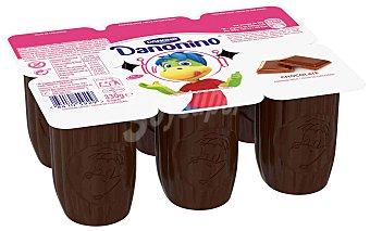 Danonino Danone Petit suisse, con sabor a chocolate 6 x 55 g