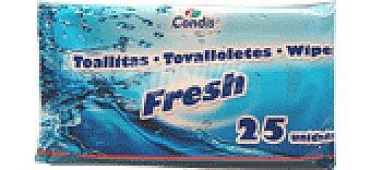 Condis Toallitas fresh 25 UNI