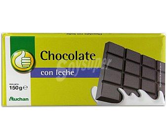 Productos Económicos Alcampo Chocolate con leche 150 gramos