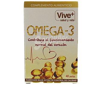 Viveplus Perlas de omega 3 48 unidades