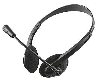 Primo Auriculares para PC trust , micrófono flexible y conexión jack 3.5mm micrófono flexible y conexión jack 3.5mm