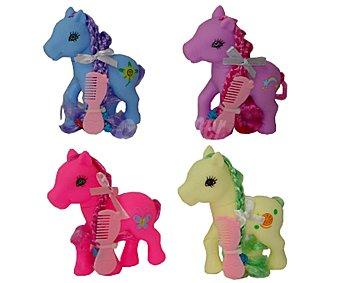 WONDER PONYLAND Pony de color con Peine 1 Unidad