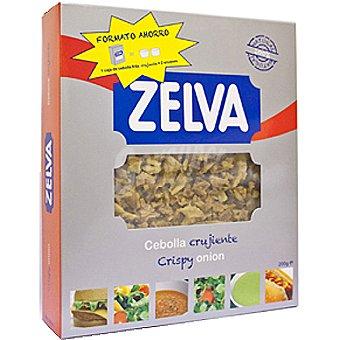 Zelva Cebolla crujiente en trozos Envase 200 g