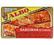 Sardinas tomate 85 g Albo