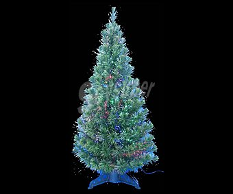 Actuel Abeto artificial de interior de 120 centímetros, con 165 ramas y luces de fibra óptica, ACTUEL.